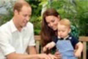 New official photographs of Prince George to mark his first...