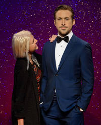 We took a selfie with Ryan Gosling at Madame Tussauds in London and it was glorious - here's what happened