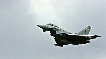 fighters scrambled to intercept jet