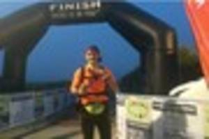 Glastonbury man Simon Baker Cooke runs 100km in 20 hours for...