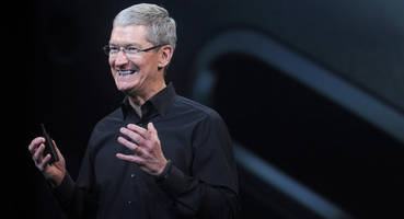 Apple Hits New High as Investors Bank on CEO Cook's Vision