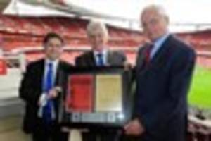 Piece of Leicester City and Arsenal football history   could be...