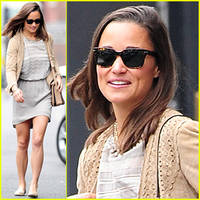 Pippa Middleton is All Smiles After Sister Kate Middleton's Royal Baby News!