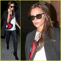 victoria beckham voted greatest style icon in the uk!