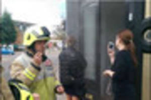 Emergency services called to Denhams jewellers in Market...