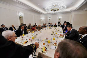 PM meets top US CEOs over breakfast; pitches India story