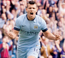 EPL: Aguero's one-man show for Man City in EPL