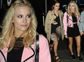 Strictly Come Dancing's Caroline Flack and Pixie Lott enjoy night of clubbing