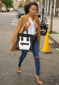The Little Mix girls look all kinds of chic as they arrive at the Radio 1 studios in London - PICS