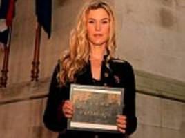 Joss Stone joins soldiers at Cenotaph vigil for launch of this year's Poppy Appeal
