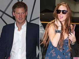 Prince Harry Enjoys Night Out, Not Being Pursued By Lindsay Lohan