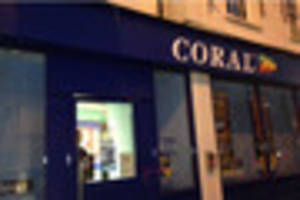 UPDATE: Staff in shock after hammer raid at Coral bookies in...
