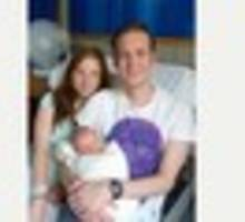 former retford resident celebrates first baby after pioneering...