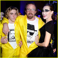 guy ritchie & son rocco are 'breaking bad' for halloween!