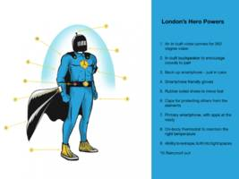 London's favourite superheroes and super-powers