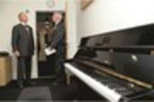 Lord Mayor of London opens impressive new music facility and...
