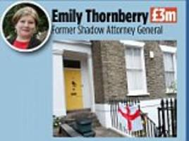 the thornberry set and their million pound homes... how ed's elite live cheek by jowl in leafy north london