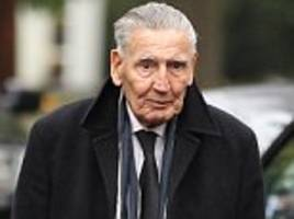 'Mad' Frankie Fraser is 'in a coma and on life support' with his family keeping a bedside vigil after complications during surgery