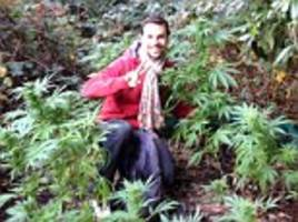 Couple discover hidden CANNABIS FARM in Epping Forest