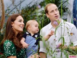 This Family Portrait of Kate Middleton, Prince William and Prince George Is the Cutest Thing Ever