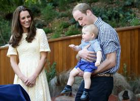 Kate Middleton with Princes William and George in Never-seen-before Family Portrait