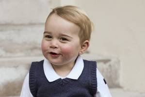 Prince George photos released by Prince William and Duchess Kate