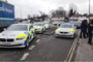 Shardlow Road, Alvaston: man badly hurt after being hit by a van