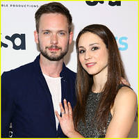 Patrick J. Adams Opens Up About Fiance Troian Bellisario's Guest-Starring Role on 'Suits' (JJ Interview)