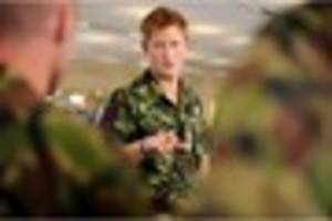 Prince Harry takes new role in the Army