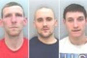 Newton Abbot 'armed' robbery gang jailed