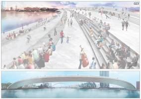 Check out some of the most outrageous designs for a new pedestrian bridge in London