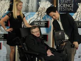 Stephen Hawking gave a priceless gift to filmmakers of the Oscar-winning movie about his life