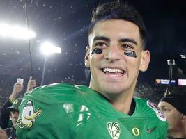 Marcus Mariota's NFL draft stock is about to take off