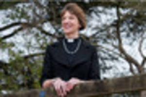 Whistle-stop county tour for new Bishop of Gloucester Rachel...