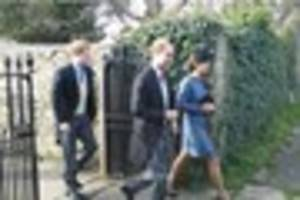 After Bath visit William and Kate perform last Royal duties...