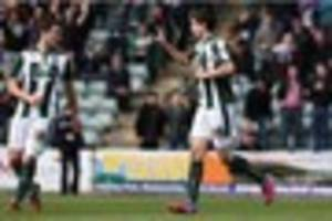 'Both goals in win against Mansfield were mine' insists Argyle...