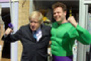 This is the funniest picture we've seen of Boris Johnson  during...