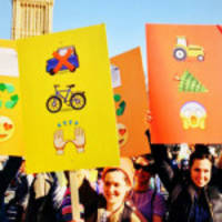 PHOTOS: Emoji Protest Signs Are Now a Thing and It's Kind of Amazing