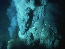 did life begin in underwater volcanoes? hot sea vents spontaneously produce building blocks needed for organisms to develop